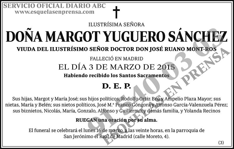 Margot Yuguero Sánchez